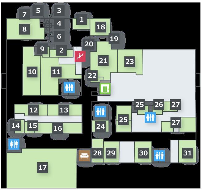 フロアマップ 1階