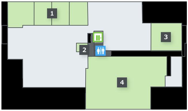 フロアマップ 3階