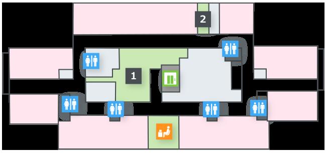 フロアマップ 5~7階